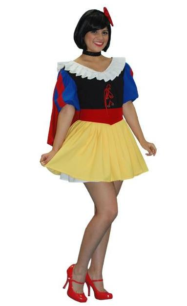 Snow White (Mini Dress) in Theatrical Costumes from BuffaloBreath at Buffalo Breath Costumes