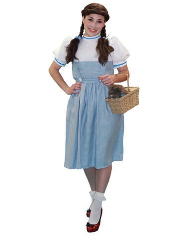 The Wizard of Oz Dorothy costume rental from Buffalo Breath Costumes