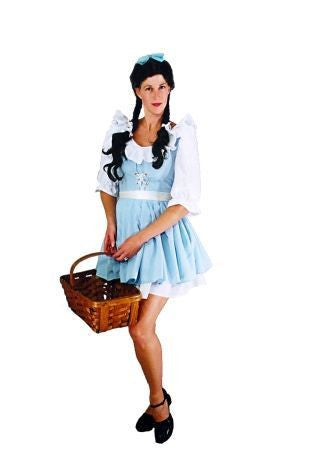 Dorothy Mini Dress in Theatrical Costumes from BuffaloBreath at Buffalo Breath Costumes