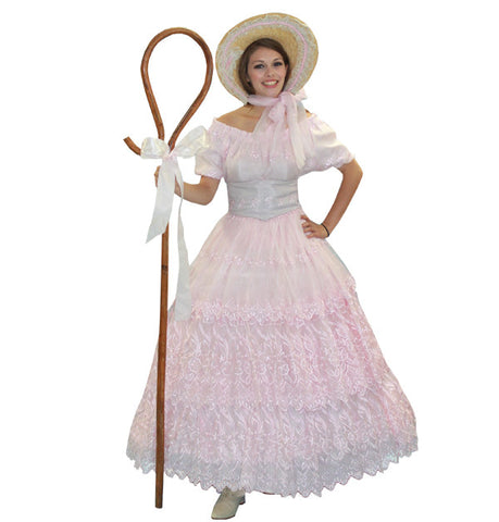 Deluxe Bo Peep in Theatrical Costumes from BuffaloBreath at Buffalo Breath Costumes