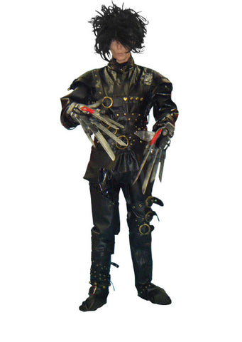 Edward Scissorhands in Theatrical Costumes from BuffaloBreath at Buffalo Breath Costumes