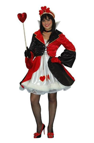 Queen of Hearts (mini dress) in Theatrical Costumes from BuffaloBreath at Buffalo Breath Costumes