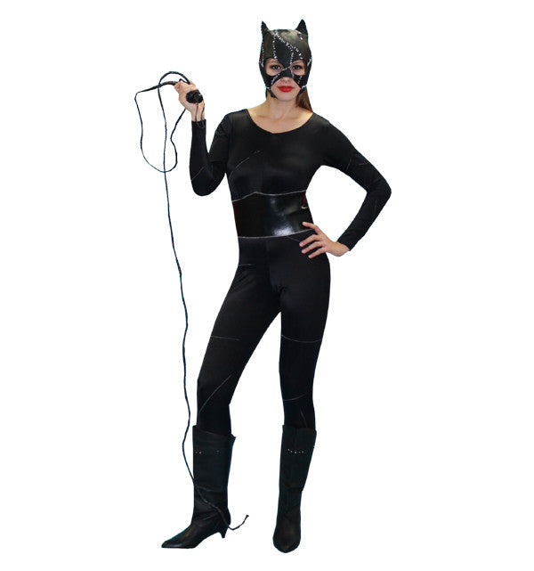 Spandex Catwoman in Theatrical Costumes from BuffaloBreath at Buffalo Breath Costumes