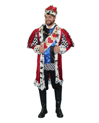 King of Hearts Deluxe in Theatrical Costumes from BuffaloBreath at Buffalo Breath Costumes