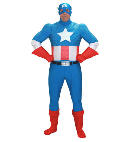 Classic Captain America in Theatrical Costumes from BuffaloBreath at Buffalo Breath Costumes