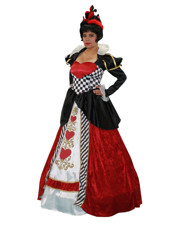 Queen of Hearts #2 in Theatrical Costumes from BuffaloBreath at Buffalo Breath Costumes