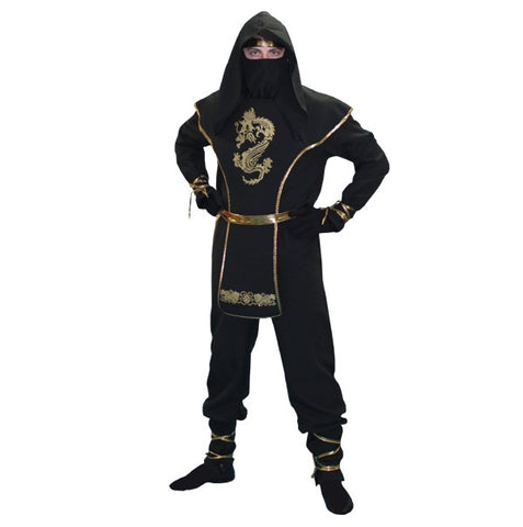 Ninja deluxe costume rental or purchase at Buffalo Breath Costumes in San Diego