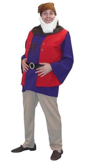 Snow White's Dwarfs - Happy in Theatrical Costumes from BuffaloBreath at Buffalo Breath Costumes