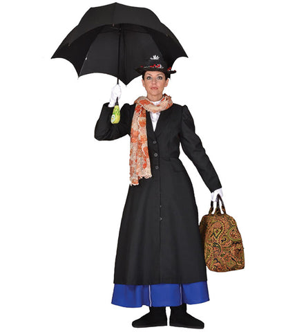 Mary Poppins costume rental at Buffalo Breath Costumes in San Diego