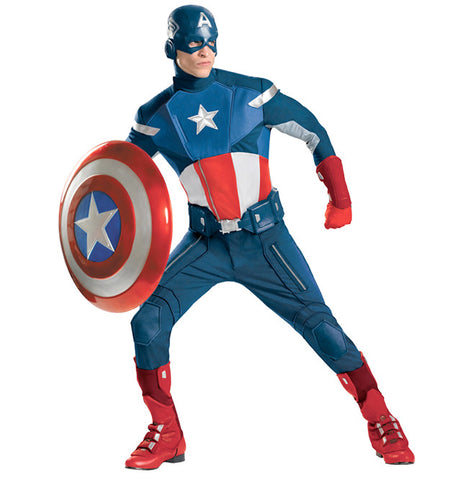 Captain America Movie Edition in Theatrical Costumes from BuffaloBreath at Buffalo Breath Costumes