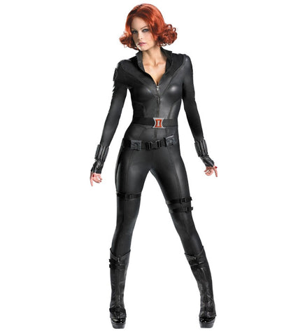 Black Widow in Theatrical Costumes from BuffaloBreath at Buffalo Breath Costumes