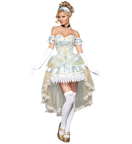 Cinderella Mini Dress in Theatrical Costumes from BuffaloBreath at Buffalo Breath Costumes