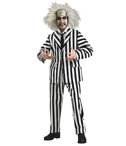 Beetlejuice costume rental at Buffalo Breath Costumes in San Diego