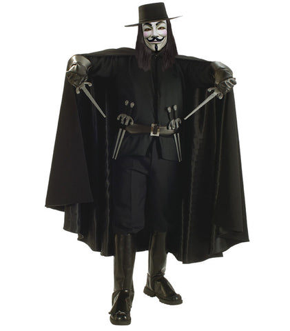 V For Vendetta in Superhero Costume Rentals at Buffalo Breath Costumes in San Diego