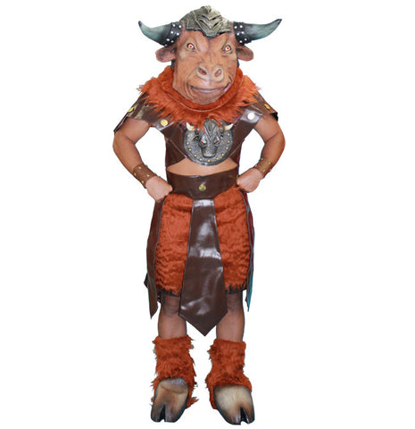 Minotaur deluxe costume rental or purchase at Buffalo Breath Costumes in San Diego
