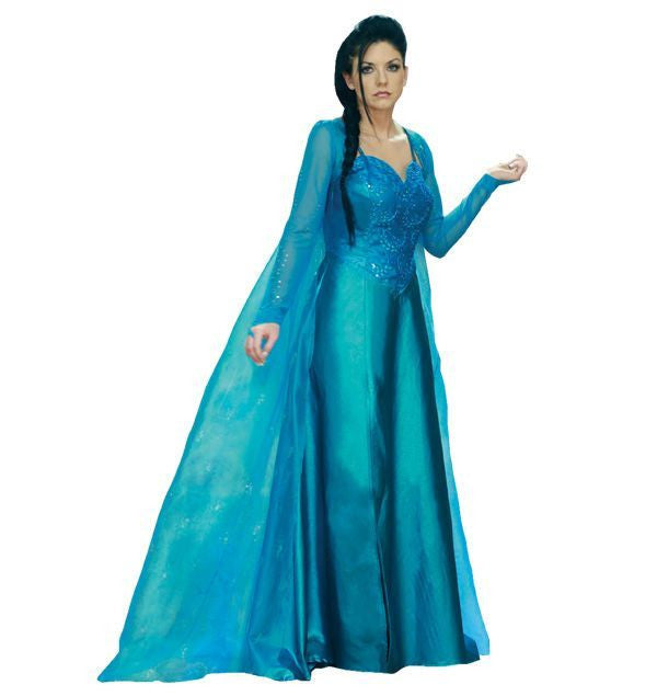 Ice Snow Queen costume rental or purchase at Buffalo Breath Costumes in San Diego
