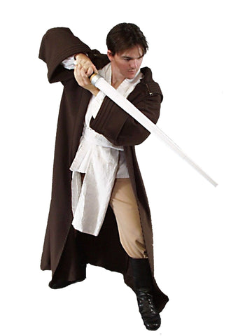 Star Warrior deluxe Star Wars Jedi costume rental or purchase at Buffalo Breath Costumes in San Diego