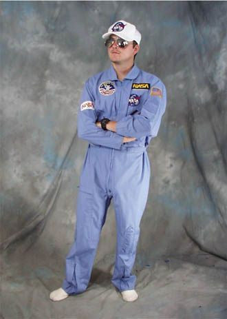 Astronaut- NASA Shuttle Pilot costume rental in Theatrical Costumes at Buffalo Breath Costumes in San Diego