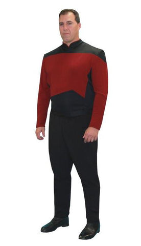 Star Trek Next Generation (red in Theatrical Costumes from BuffaloBreath at Buffalo Breath Costumes