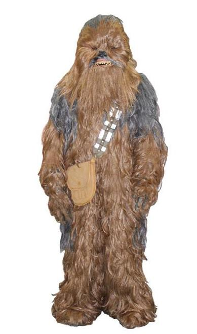 Star Wars deluxe Chewbacca costume for rent at Buffalo Breath Costumes