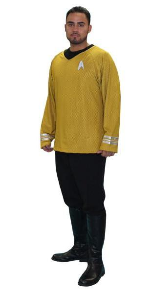Star Trek (yellow) in Theatrical Costumes from BuffaloBreath at Buffalo Breath Costumes