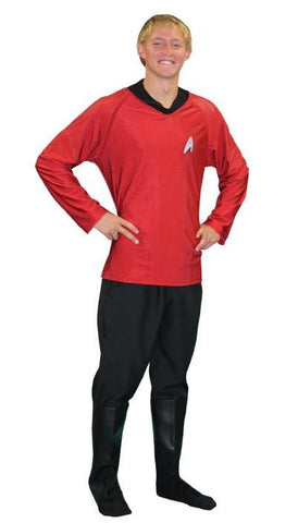 Star Trek (Red) in Theatrical Costumes from BuffaloBreath at Buffalo Breath Costumes