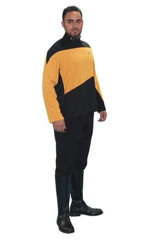 Star Trek Next Generation (yel in Theatrical Costumes from BuffaloBreath at Buffalo Breath Costumes
