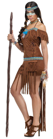 Medicine Woman in Packaged Costumes from FUNWORLD at Buffalo Breath Costumes