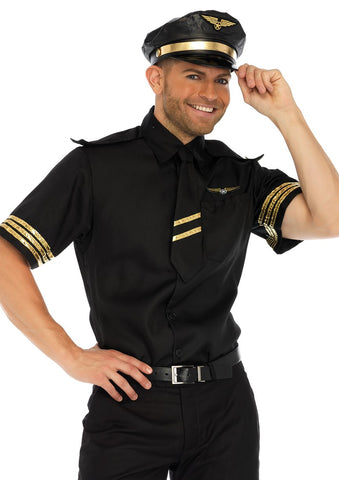 Flight Captain costume by Leg Avenue #86685 at Buffalo Breath Costumes in San Diego