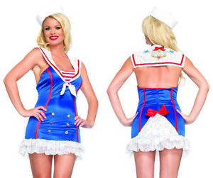 Frisky First Mate sexy sailor uniform by Leg Avenue at Buffalo Breath Costumes in San Diego