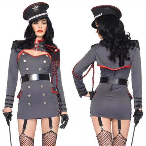General Punishment sexy military theme costume by Leg Avenue 83942 at Buffalo Breath Costumes in San Diego