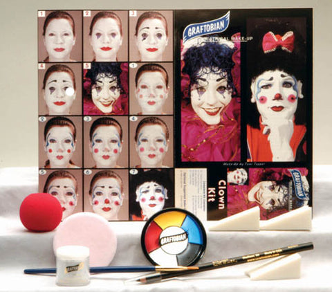 Clown Makeup Kit by Graftobian 88850 at Buffalo Breath Costumes
