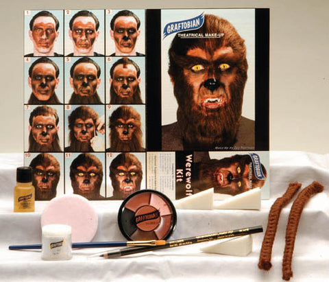 Werewolf Kit by Graftobian Make-Up 88856 at Buffalo Breath Costumes