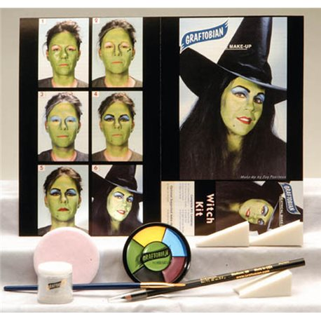 Witch Makeup Kit by Graftobian 88857 at Buffalo Breath Costumes