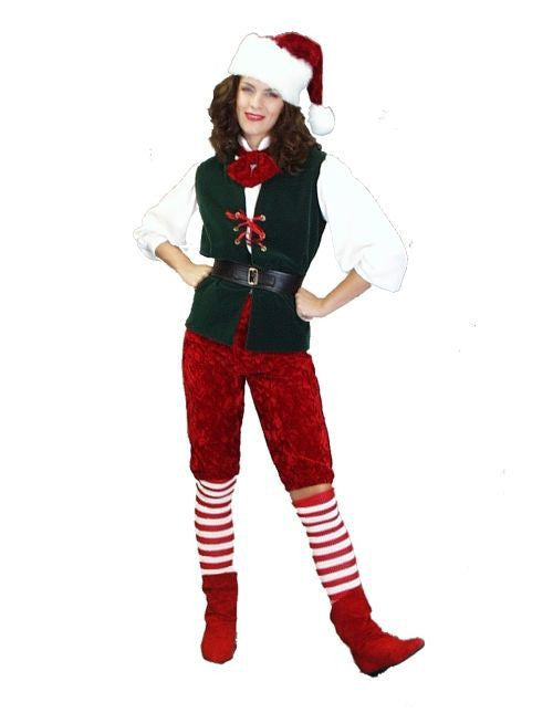 Elf christmas costume rental from Buffalo Breath Costumes