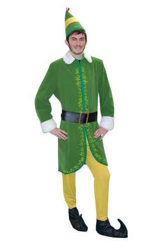 Buddy the Elf in Theatrical Costumes from BuffaloBreath at Buffalo Breath Costumes