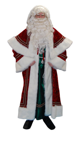 Kris Kringle with Green Robe in Theatrical Costumes from BuffaloBreath at Buffalo Breath Costumes