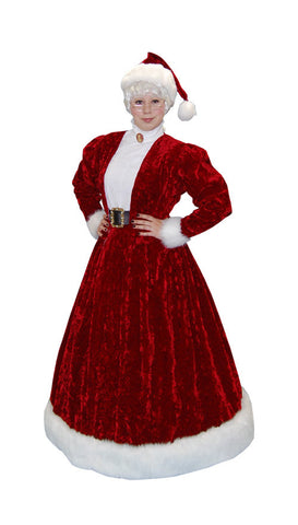 Mrs Claus (Victorian) in Theatrical Costumes from BuffaloBreath at Buffalo Breath Costumes