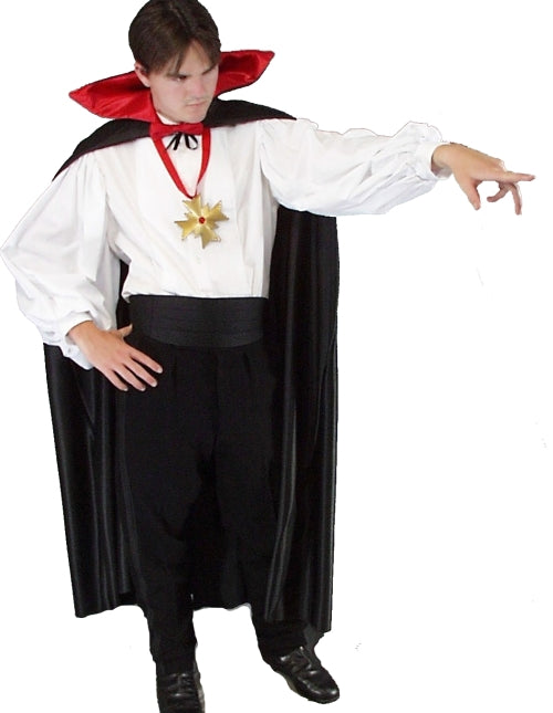Classic Dracula vampire costume at Buffalo Breath Costumes in San Diego