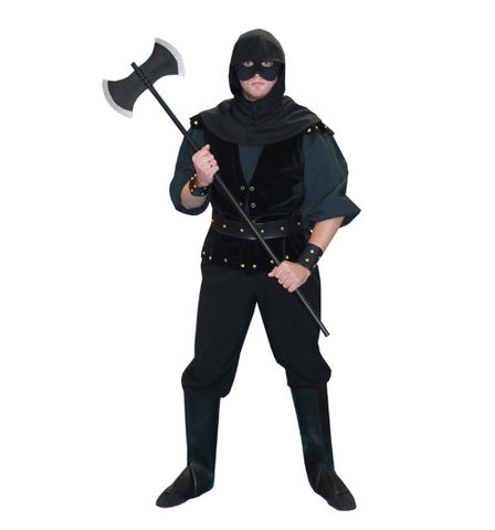 Executioner with Black Shirt in Theatrical Costumes from BuffaloBreath at Buffalo Breath Costumes