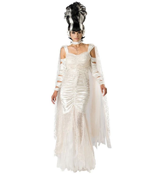 Bride of Frankenstein in Theatrical Costumes from BuffaloBreath at Buffalo Breath Costumes