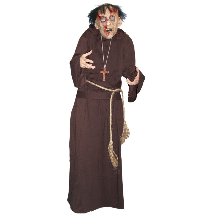 Zombie Monk in Theatrical Costumes from BuffaloBreath at Buffalo Breath Costumes