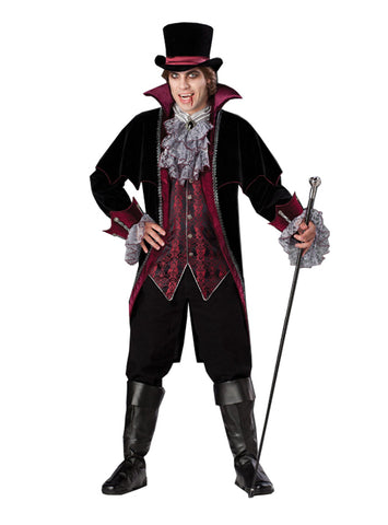 Vampire of Versailles costume rental at Buffalo Breath Costumes