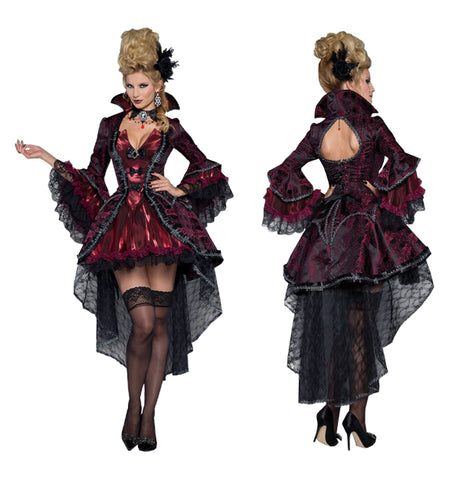 Victorian Vamp costume rental at Buffalo Breath Costumes