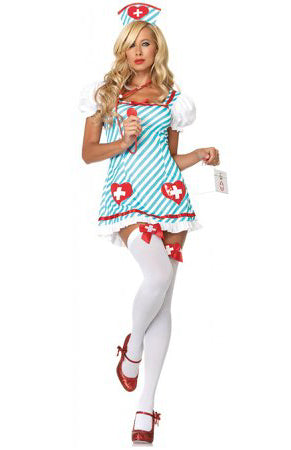 Holly Heartstopper sexy nurse costume by Leg Avenue at Buffalo Breath Costumes