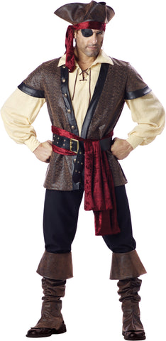 Rustic Pirate in Packaged Costumes from INCHARACTE at Buffalo Breath Costumes