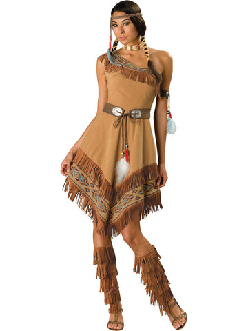 Indian Maiden in Packaged Costumes from INCHARACTE at Buffalo Breath Costumes