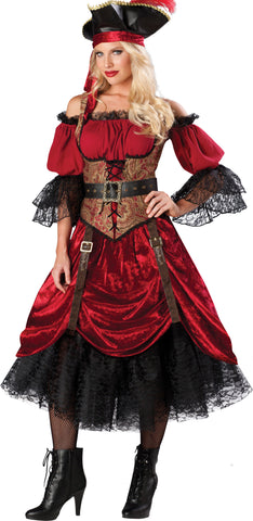 Swashbucklin' Scarlet in Packaged Costumes from INCHARACTE at Buffalo Breath Costumes