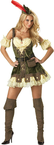 Racy Robin Hood in Packaged Costumes from INCHARACTE at Buffalo Breath Costumes