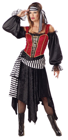 Pirate Lady in Packaged Costumes from INCHARACTE at Buffalo Breath Costumes